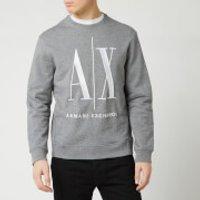 Armani Exchange Men's Large AX Sweatshirt - Grey - L