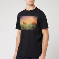 PS Paul Smith Men's Regular Fit UFO Zebra T-Shirt - Black - S