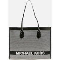 MICHAEL MICHAEL KORS Women's Bay Large Tote Bag - Black/White