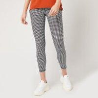 The Upside Women's Gingham Midi Pants - Gingham - S