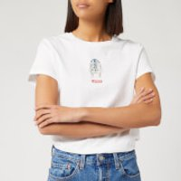 Levi's X Star Wars Women's The Perfect Short Sleeve T-Shirt - White - M