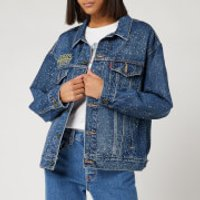 Levi's X Star Wars Women's Dad Trucker Jacket - May The Force Be with You - XS