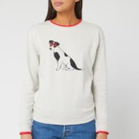 Joules Women's Presley Jumper - Grey Dog - UK 16