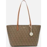 shop for DKNY Women's Bryant Park Medium Tote Bag - Mocha at Shopo