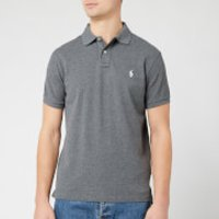 Polo Ralph Lauren Men's Custom Slim Fit Polo Shirt - Fortress Grey Heather - L