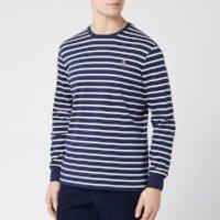 Polo Ralph Lauren Men's Long Sleeve Stripe T-Shirt - French Navy/White - XXL