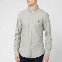 Polo Ralph Lauren Men's Long Sleeve Oxford Shirt - Grey Fog - XL