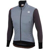 Sportful Fiandre Strato Wind Jacket - S - Cement/Anthracite