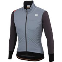 Sportful Fiandre Strato Wind Jacket - L - Cement/Anthracite