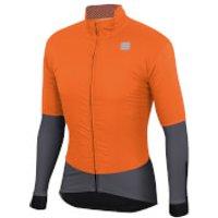 Sportful BodyFit Pro Jacket - L - Orange SDR/Anthracite