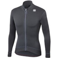 Sportful Monocrom Thermal Jersey - S - Anthracite