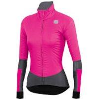 Sportful Women's BodyFit Pro Jacket - XS - Bubble Gum/Anthracite
