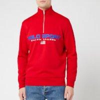 Polo Sport Ralph Lauren Men's Long Sleeve Quarter Zip - RL2000 Red - L
