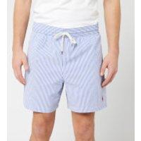 Polo Ralph Lauren Men's Traveler Swim Shorts - Cruise Royal Seersucker - M