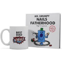 Mr. Men Mr. Grumpy Book and Mug Gift Set - Fatherhood - Mr Men Gifts