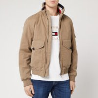 Tommy Hilfiger Men's Icon Bomber Jacket - Stone - L
