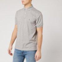 Tommy Hilfiger Men's Regular Polo Shirt - Cloud Heather - M