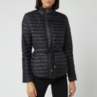 MICHAEL MICHAEL KORS Women's Belted Packable Puffer Jacket - Black - M