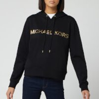 MICHAEL MICHAEL KORS Women's Trim Sweatshirt Hoodie - Black - S
