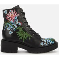 KENZO Women's Pike Lace Up Boots - Black - UK 4