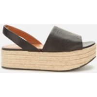 KENZO Women's Platform Espadrille Sandals - Black - UK 6.5