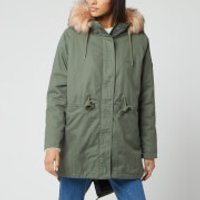 Superdry Women's Cheetah Rookie Parka Jacket - Khaki - UK 14