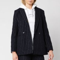 Superdry Women's Edit Sapporo Blazer - Navy Stripe - UK 10