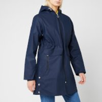 Superdry Womens Hydrotech Mac - Richest Navy - UK 10