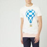 Lanvin Men's Babar Balloons Print Short Sleeve T-Shirt - White - S
