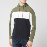 Levi's Men's Colorblock Hoodie - Olive Night - M
