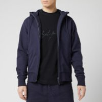Y-3 Men's Classic Back Logo Full Zip Hoody - Legend Ink - M