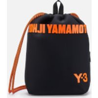 Y-3 Men's Drawstring Backpack - Black