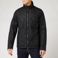 Barbour International Men's Tennant Wax Jacket - Black - M