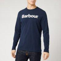 Barbour Storm Force Men's Roanoake Long Sleeve T-Shirt - New Navy - XXL