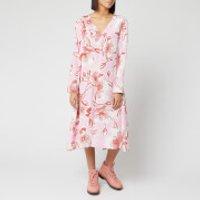 Stine Goya Women's Miri Jasmine Silk Dress - Pink - XS