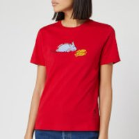 PS Paul Smith Women's Year of The Rat T-Shirt - Red - S