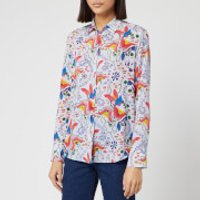 PS Paul Smith Women's Floral Print Shirt - Multi - IT 42/UK 10