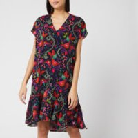PS Paul Smith Women's Floral Print Short Dress - Multi - IT 40/UK 8