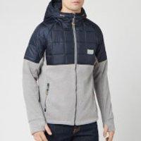 Superdry Men's Polar Fleece Hybrid Jacket - Grey Marl - XL