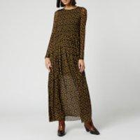 Free People Women's Hello and Goodbye Midi Dress - Black - XS