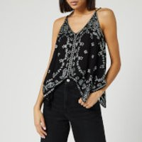 Free People Women's Going Out In Austin Top - Black - S