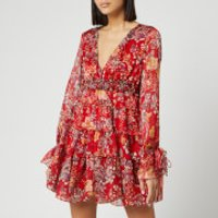 Free People Women's Closer To The Heart Mini Dress - Red - M
