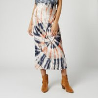 Free People Women's Bali Serious Swagger Tie Skirt - Multi - XS