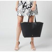 shop for Lulu Guinness Women's Crossgrain Ivy Tote Bag - Black at Shopo