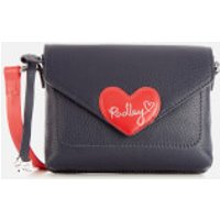 Radley Women's I Love You Mini Flapover Cross Body Bag - Ink