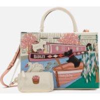 shop for Radley Women's Little Venice Medium Ziptop Multiway Grab Bag - Chalk at Shopo