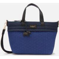 shop for Radley Women's Penton Mews Colour Block Medium Ziptop Grab Multiway Bag - Sapphire at Shopo