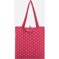 shop for Radley Women's Ditsy Dog Foil Foldaway Tote Bag - Raspberry at Shopo