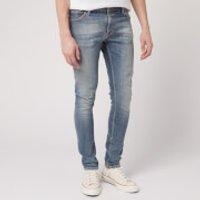 Nudie Jeans Men's Skinny Lin Jeans - Misty Blue - W34/L30