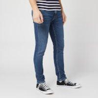 Nudie Jeans Men's Lin Skinny Jeans - Dark Blue Navy - W32/L32